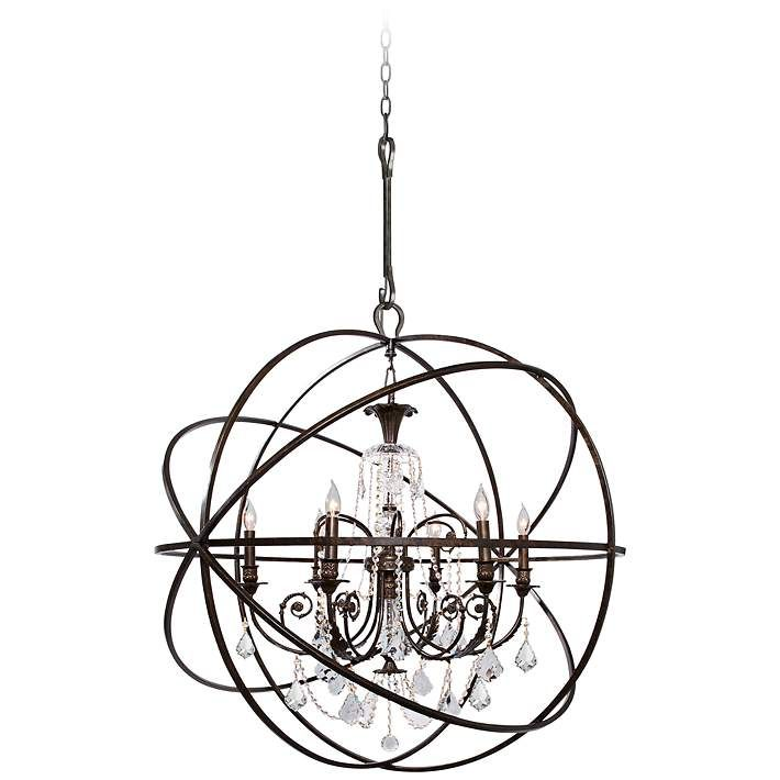 17 Best ideas about Bronze Chandelier – Bronze Chandelier with Crystals
