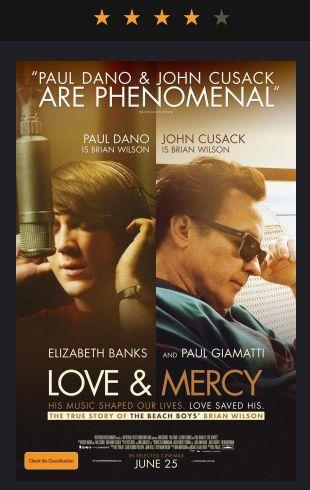 4 estrellas le pusimos a la película 'Love & Mercy', que se estrenó este fin de semana en el GIFF 2015.