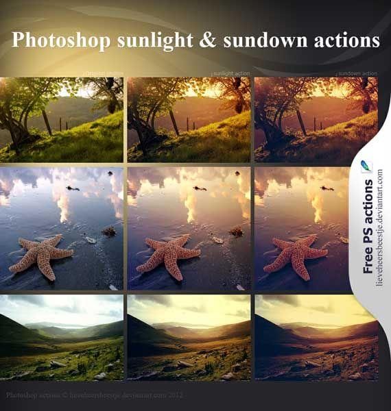 Canal Adobe Photoshop: Download : Belíssimas actions para efeitos em fotos