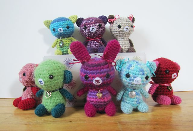 Ravelry: Bears! Bunnies! Cats! pattern by Minazara