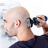 Bald Head Shaver TurnRaise Rechargeable 5 Headed Flex Shaver Razor Designed for Bald Head and Face Shaving