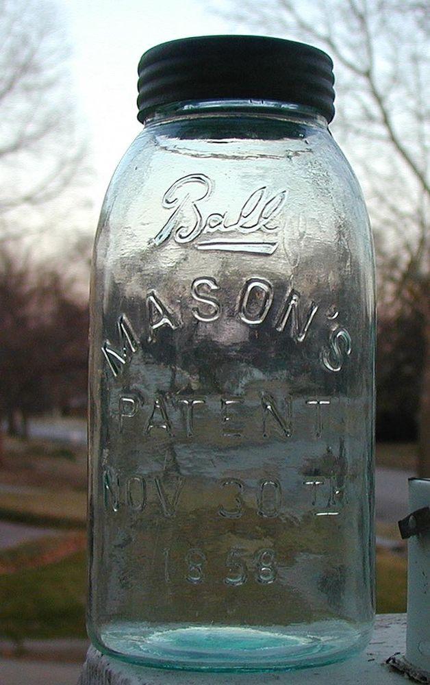 One gallon midget glass jars