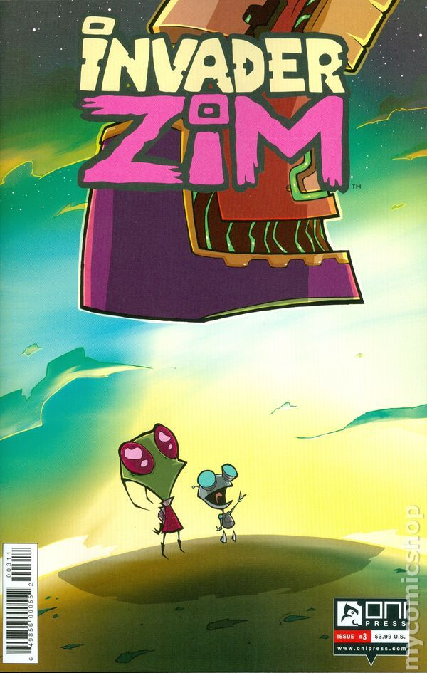 Invader Zim (2015 Oni Press) 3A