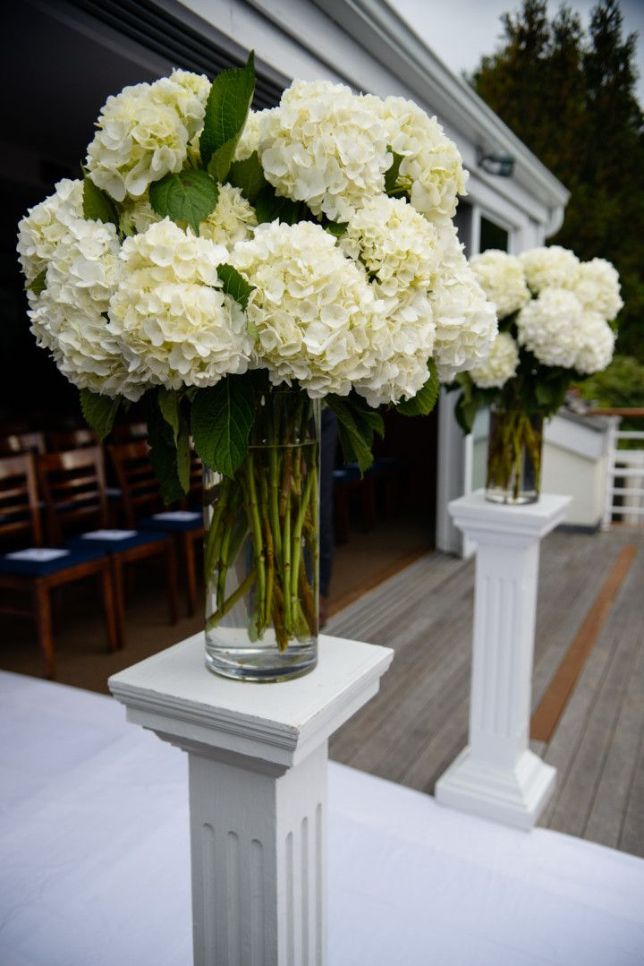 amaranth photography wedding ceremony flower idea