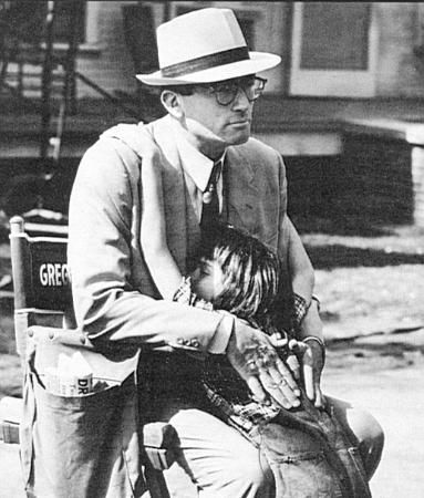 Fun fact: Mary Badham (Scout) kept in touch with Gregory Peck for over 40 years after To Kill a Mockingbird was filmed and called him 'Atticus' until the day he died.