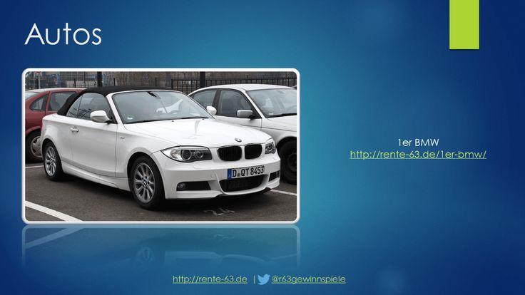 BMW 1er gewinnen! http://rente-63.de/1er-bmw/