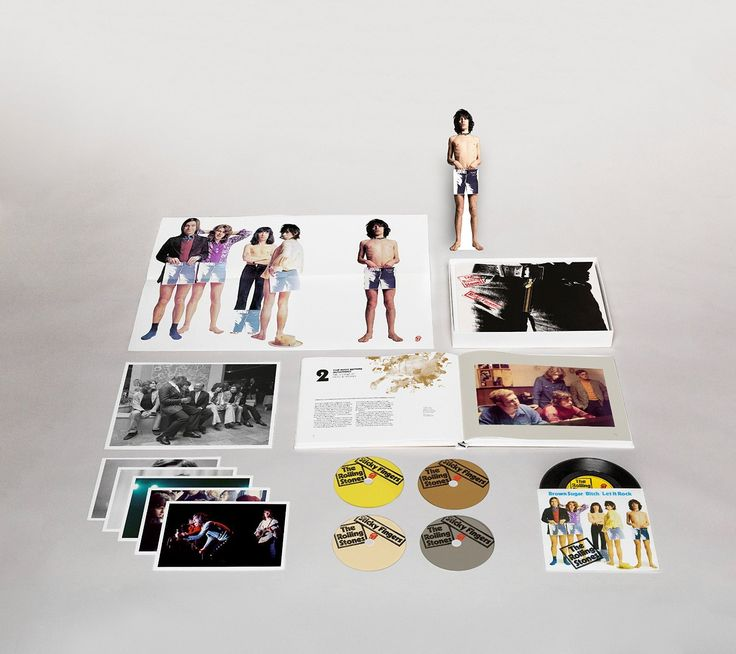 The Rolling Stones - Sticky Fingers: Super Deluxe Edition