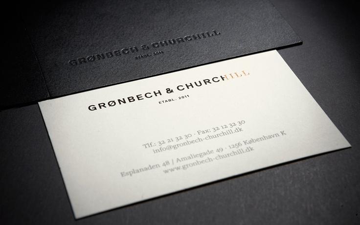 Visuel identitet – Grønbech & Churchill
