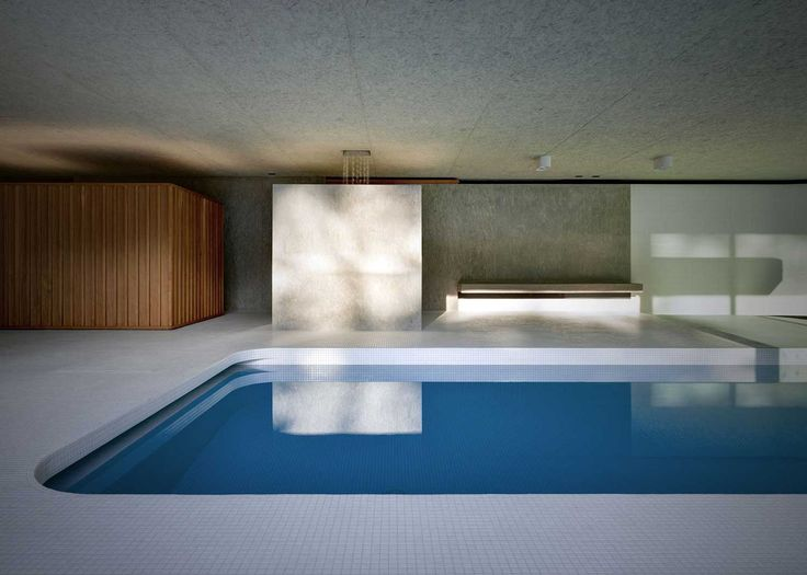 <p>'La Piscina del Roccolo' is gorgeous luxurious indoor swimming pool designed by Italian architecture studio Act_romegialli. Set in a historic home in Italy, the client required the pavilion to be c