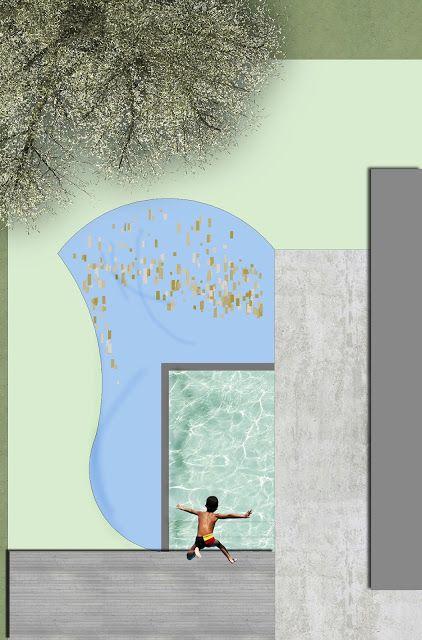 Forma a fiore per la scelta delle forme nella progettazione di piscine biologiche, biopiscine e biopools