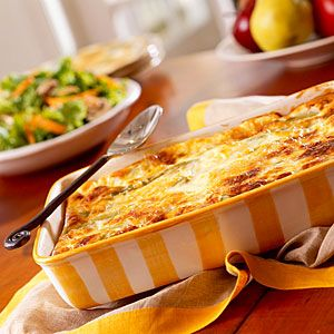 Chile Relleno Casserole~ Cooking Light Magazine... add taco seasoning to the ground meat/ onion mixture for more flavor & served with sour cream, tomatoes and avocado. Yummy!