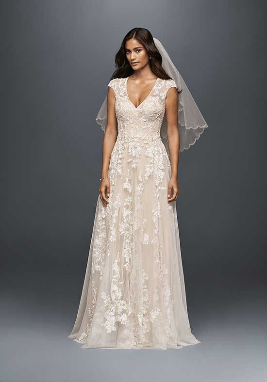 Melissa Sweet for David's Bridal Melissa Sweet Style MS251180 Mermaid Wedding Dress
