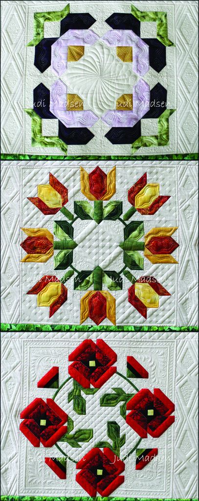 PBblocks | Pam Bono BOM pieced by Barbara and quilted by Jud… | Flickr - Photo…
