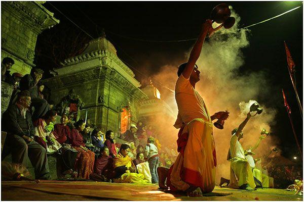 Sergey Maximishin's work - Full moon festival in Katmandu