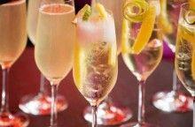 Champagnepunsch med gin och limoncello Receptbild - Allt om Mat