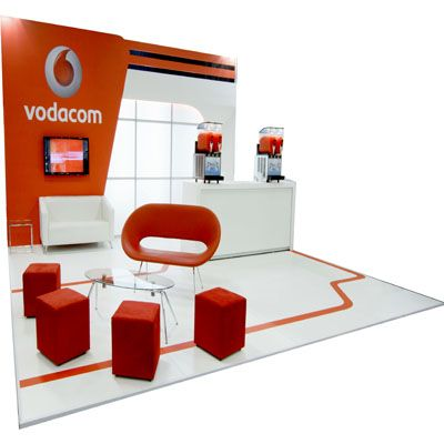 This Awesome Vodacom Stand Built By