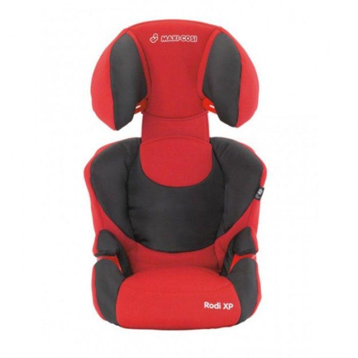 Maxi-Cosi Rodi XP autostoel | Deep Red 2010  Het Maxi-Cosi Rodi XP 2 stoeltje met in lengte en breedte verstelbare rugleuning is uitgerust met een Side Protection System dat optimale bescherming biedt bij zijdelingse botsingen. De voorwaarts gerichte Rodi XP 2 is licht van gewicht gemakkelijk over te plaatsen naar een andere auto en geschikt voor kinderen van 15 tot 36 kg ca. 35 tot 12 jaar.De Rodi XP 2 groeit mee met je kind en is in lengte en breedte aan te passen. De hoofd- en lendesteun…