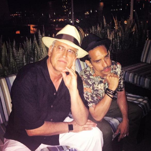 """fuck yeah! bruce campbell   """"Me and el jefe living!"""" Real Ray Santiago"""