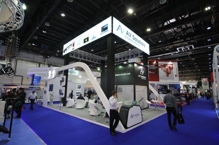 AV Solutions Cabsat 2015 Stand