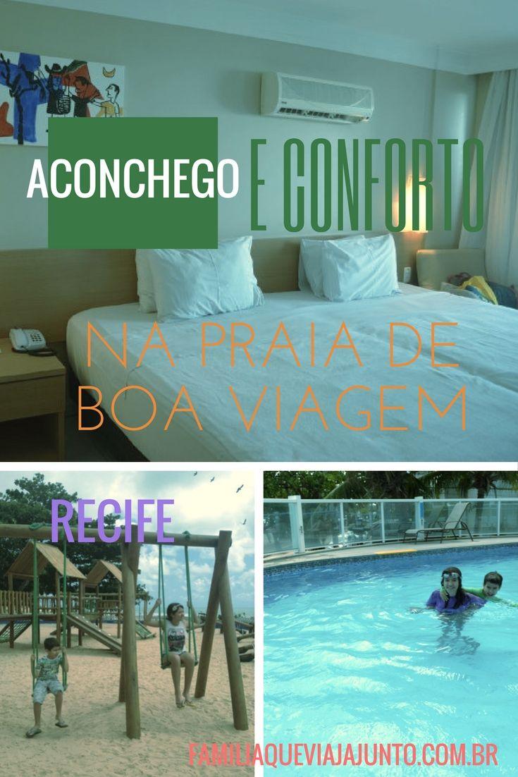 Aconchego e conforto na praia de Boa Viagem, em Recife. Saiba como é se hospedar no  Radisson Recife.