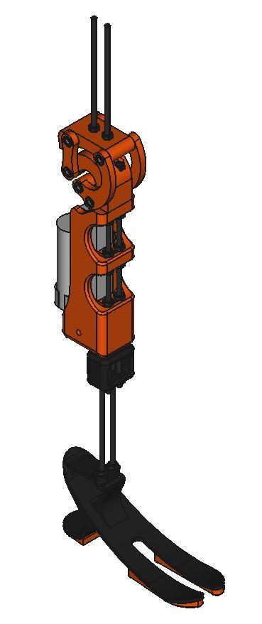 GitHub - davidsanfal/drakkar: Printable robotic prosthetic leg