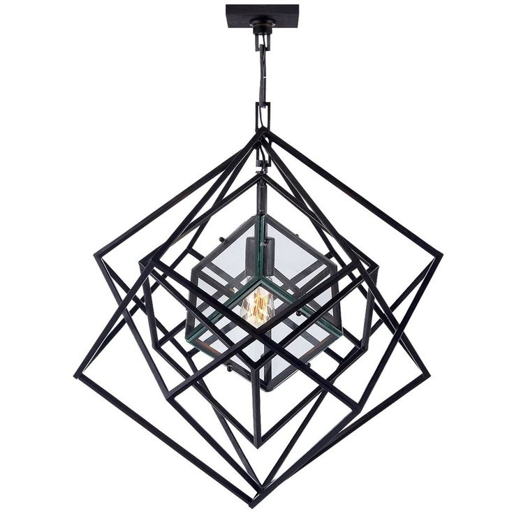 Visual Comfort Lighting Kelly Wearstler Cubist 22-Inch Pendant