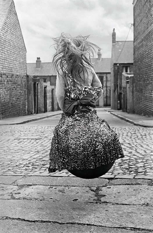 Girl on a Spacehopper, by Sirkka-Liisa-Konttinen, 1971 (Courtesy Amber and L Parker Stephenson)