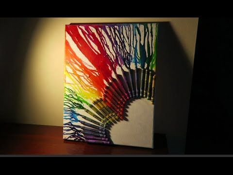 How to Make Melted Crayon Art: 12 Steps (with Pictures) - wikiHow