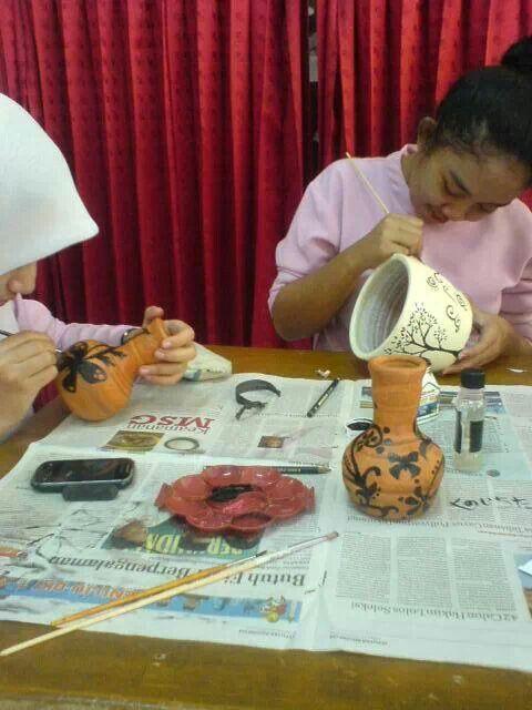 Art work at vhs 30 jakarta, indnonesia