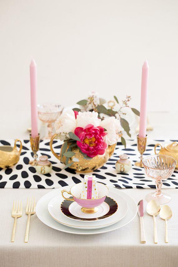 The Perfect Palette: Polka Dot Wedding Inspiration