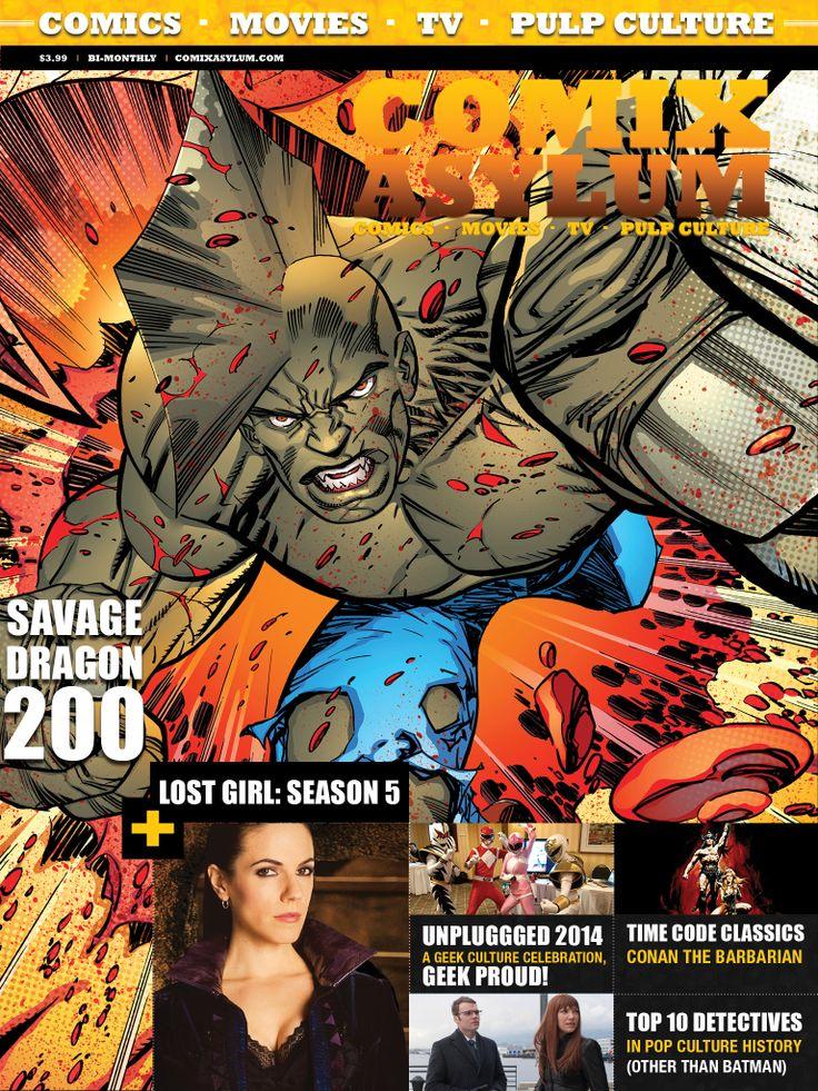 Comix Asylum Issue 8