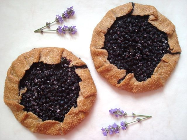 Borůvkové galettes | Blueberry Galettes - www.vune-vanilky.cz