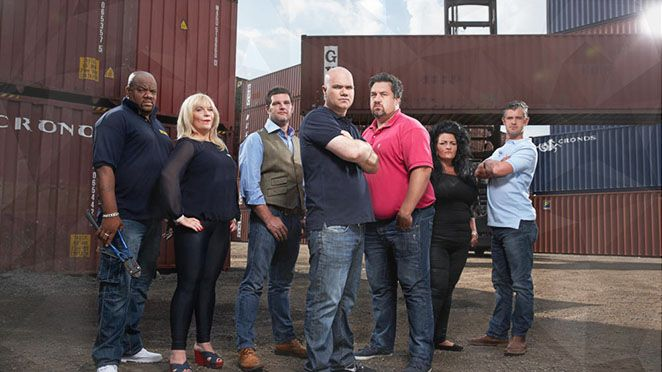 Storage Hunters UK (UKTV-Dave-September 15, 2015) Series 3 - an American reality TV series about storage auctions. The original American show was created/starred by auctioneer Sean Kelly. A British version was released in 2013. Storage Hunters UK stars Sean Kelly, exec. produced for UKTV by Jenny Daly for T Group Productions, John Quinn for North One Television.