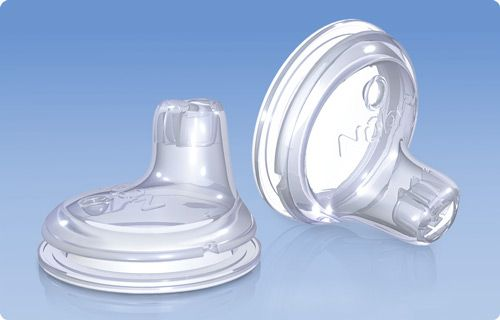 No-Spill™ Silicone Replacement Spouts: DIY pot this on top of a small mason jar and you've got a glass sippy cup!