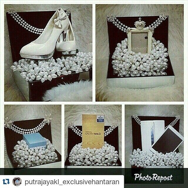 #Repost @putrajayakl_exclusivehantaran ・・・ HANTARAN FOR RENT. . . BE BOLD, EXCLUSIVE & LIMITED . our signature  CHANEL INSPIRED PEARL GLAM HANTARAN . . Affordable yet the most elegant and exclusive!!! . . RENTAL PRICE AND PACKAGES 5 hantarans for RM350 7 hantarans for RM450 9 hantarans for RM550 . . . Hire us now for your big day and be surprise with our magical touch!!! Dun worry, just leave it to us..We makes your dreams come true because we're you hantaran DESIGNER!!! . .  #hantaran…