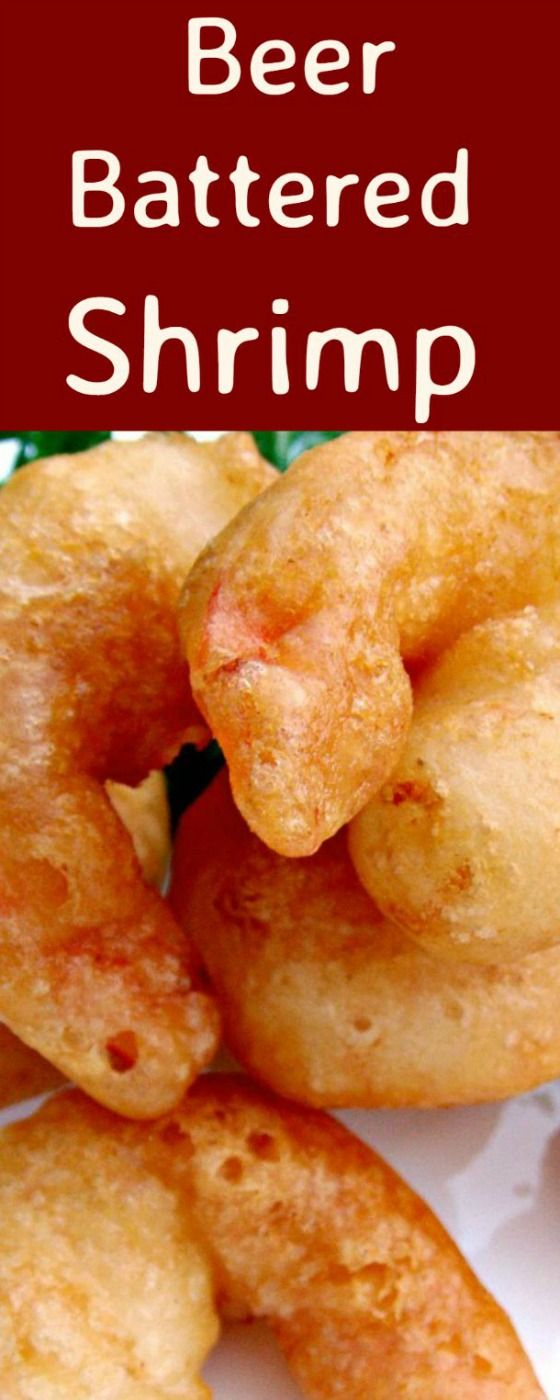 Crispy Beer Battered Shrimp. Oh boy.. these are delicious!  via @lovefoodies