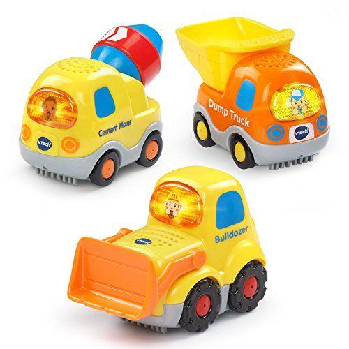 vtech go go smart wheels construction vehicles 3 pack - Best Toys 2015 Christmas