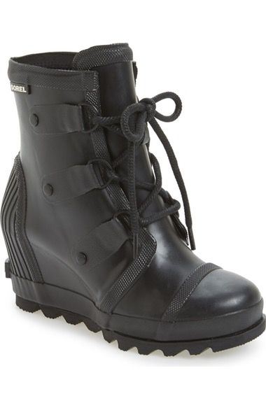 Sorel Joan Wedge Rain Boot (Women) available at #Nordstrom