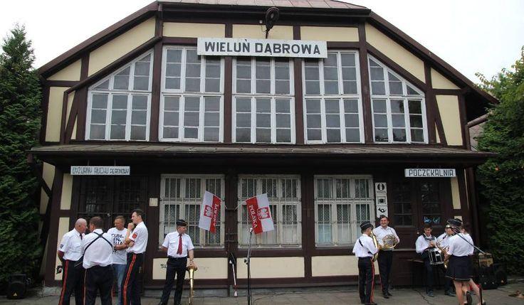 Dworzec na stacji Wieluń-Dąbrowa ma zostać zaadaptowany na działalność  kulturalną. Wieluński magistrat złożył wniosek o dofinansowanie unijne inwes