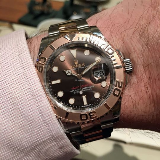 Rolex [NEW] Yacht-Master Stainless Steel Everose Gold Bezel 40mm 116621   OUR PRICE 售價: HK$88,900.   #勞力士 #rolex #YachtMaster #Yacht_Master #rolexYachtMaster #rolex_Yacht_Master #yachtmaster116621  #rolex116621 #rolex_yacht_master_116621