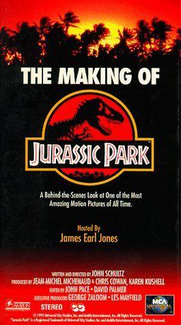 Making of Jurassic Park [VHS] @ niftywarehouse.com #NiftyWarehouse #Geek #Gifts #Collectibles #Entertainment #Merch