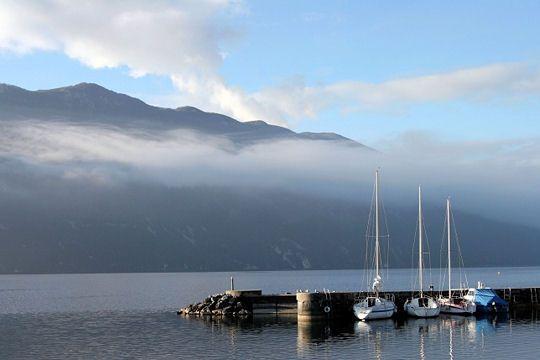 Le lac du Bourget, Savoie