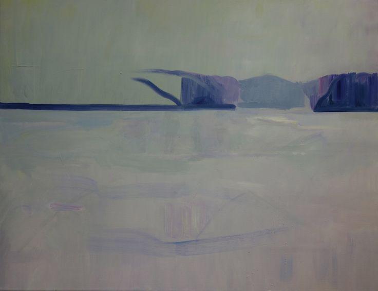 Vinter, Olja på duk, 105x135cm