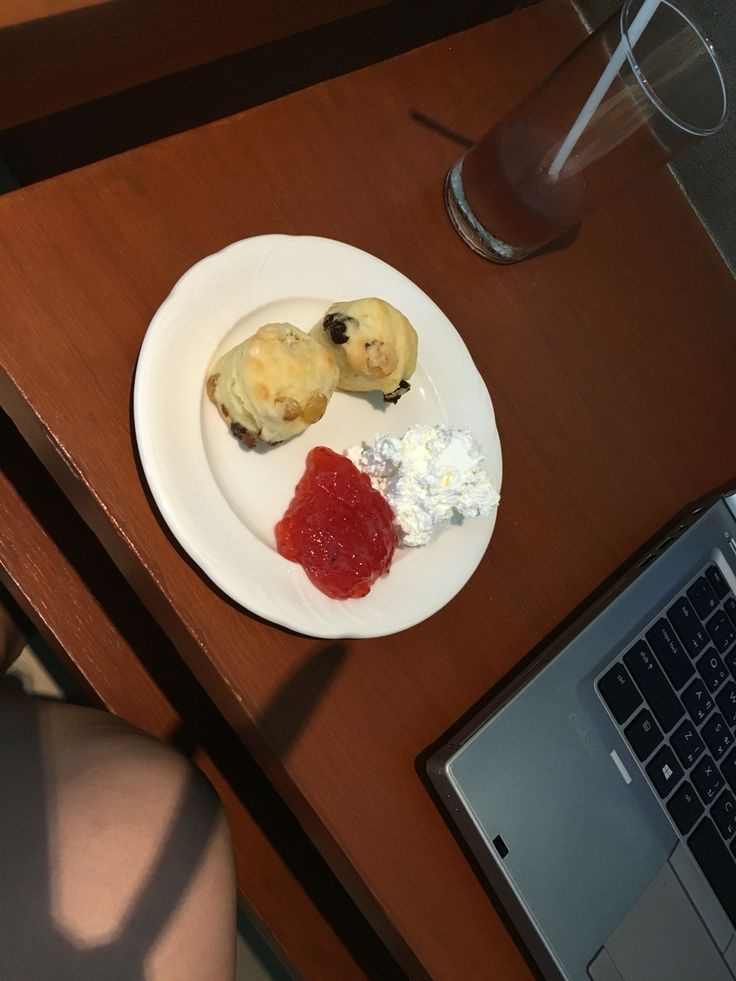 Best scones I've ever had. It's small. It's moist and chewy.