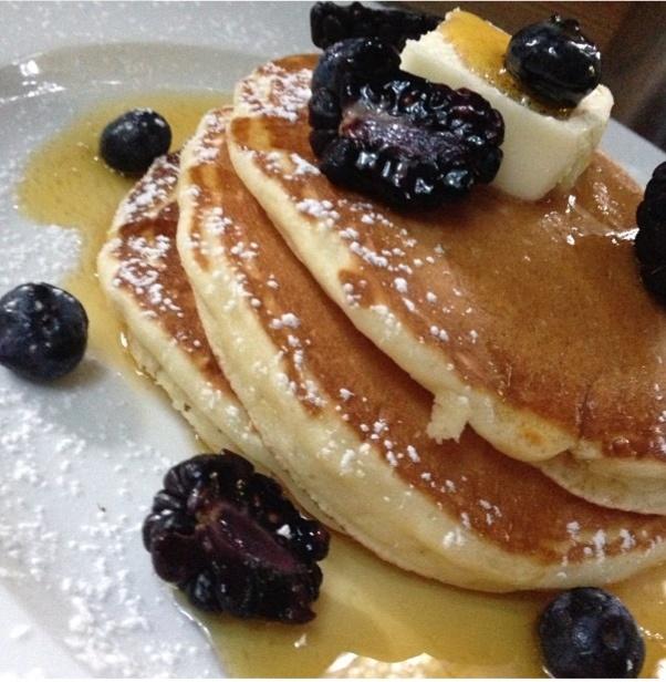 Blueberry pancake Tyler Florence recipe