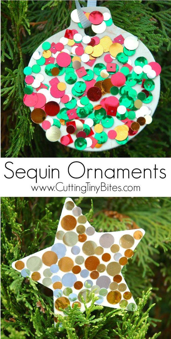 33+ Handmade Christmas Ornaments for Kids