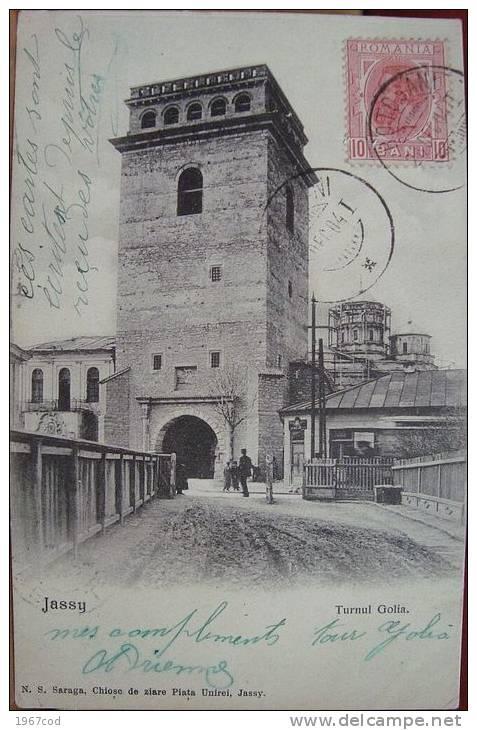 Iasi - Turnul Golia - 1904