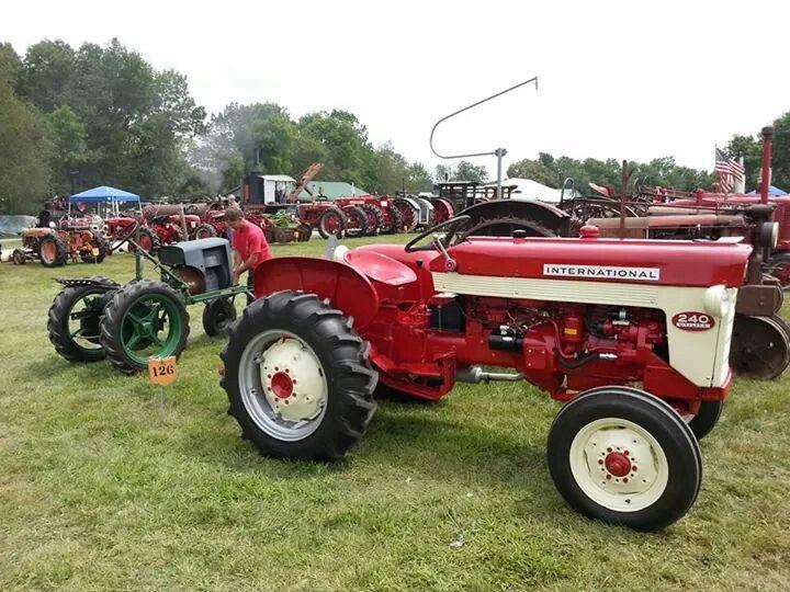 International 240 Tractor : Best images about tractors on pinterest john deere