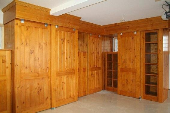 custom pine cabinet doors 2