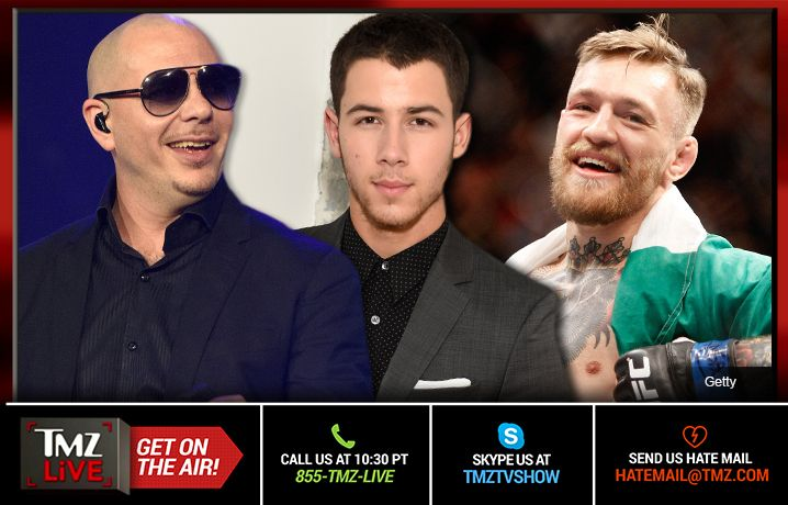TMZ Live: Pitbull & Nick Jonas: Quinceanera Legends!